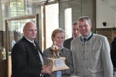 2011: Gaby und Hans Eser, Schlossgut Odelzhausen